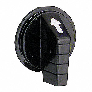 30mm Lever Selector Switch Knob, Black
