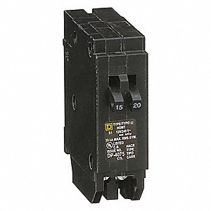 Plug In Circuit Breaker,20A,1P,10kA,120V