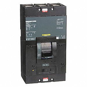 Square D Molded Case Circuit Breaker 300 A Amps Number Of Poles 3 Series Lal 5b916 Lal36300 Grainger