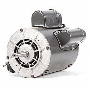 1-1/2 HP Direct Drive Blower Motor, Capacitor-Start, 1725 Nameplate RPM, 115/208-230 Voltage