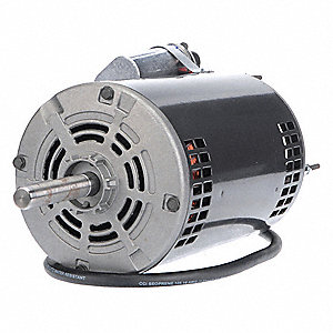 1/2 HP Direct Drive Blower Motor, Permanent Split Capacitor, 1140 Nameplate RPM, 115/230 Voltage