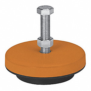 """4-3//4/"""" HD Machine Mount for Leveling /& Vibration Noise Dampening 8,000# Cap."""