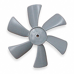 "6"" CCW Propeller, Gray&#x3b; Number of Blades: 6"