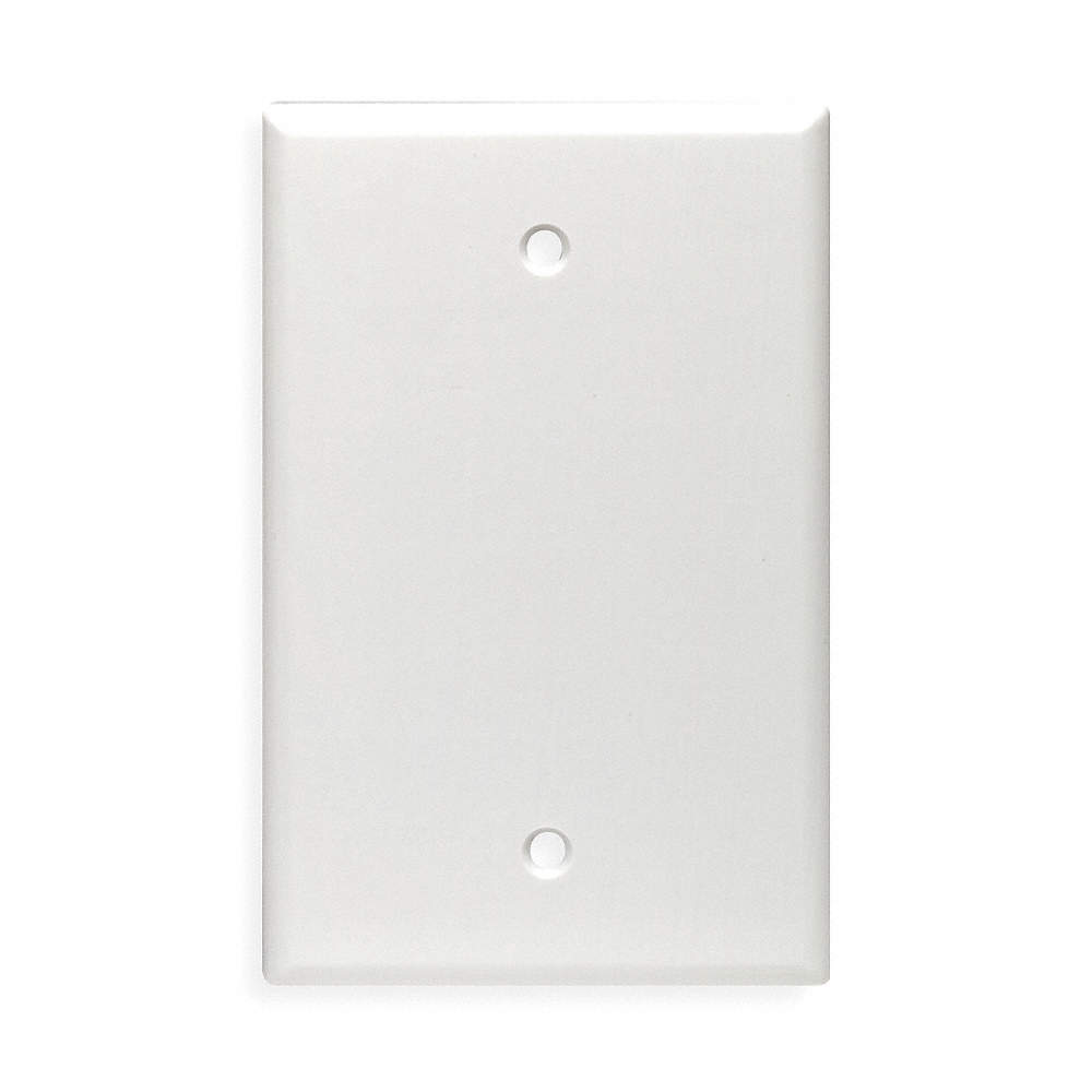 Blank Switch Plate Simple Leviton Blank Wall Plate1 Gangwhite  5C28280514W  Grainger Design Inspiration