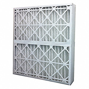 28x30x4 Synthetic Pleated Air Filter with MERV 7