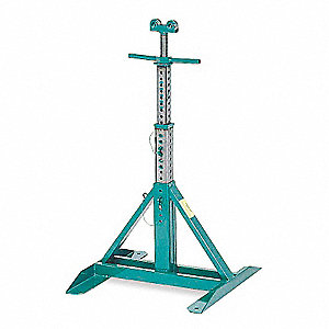 Adjustable Reel Stand,54 In Max Height