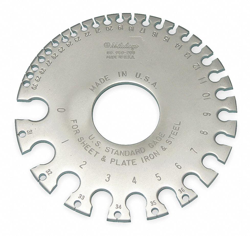 MITUTOYO Gage,Us Standard - 5C736|950-203 - Grainger