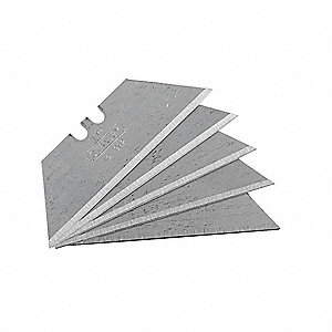 "2-7/16"" Carbon Steel 2-Point Utility Blade, 5 PK"