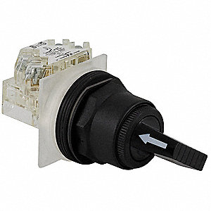 Non-Illum Selector Switch,10 at 600VAC