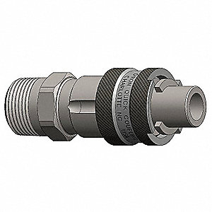 Male to Bowes Nipple,(M)NPT,1/2,Steel