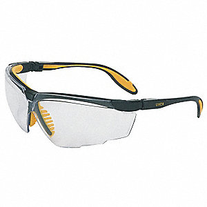 Genesis X2  Scratch-Resistant Safety Glasses, Clear Lens Color