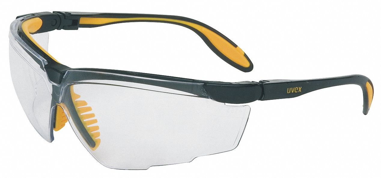 HONEYWELL UVEX Genesis X2 Scratch-Resistant Safety Glasses ...
