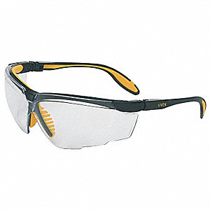 Uvex Genesis X2 (TM) Scratch-Resistant Safety Glasses, Clear Lens Color