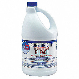 1 gal. Germicidal Bleach, 6 PK
