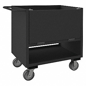 4 Sided Box Cart,2000 lb.