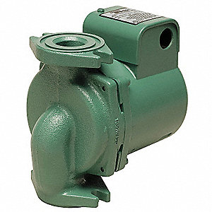 1/6 HP Cast Iron In Line,Mechanical Seal, Ball Bearing Hydronic Circulating Pump