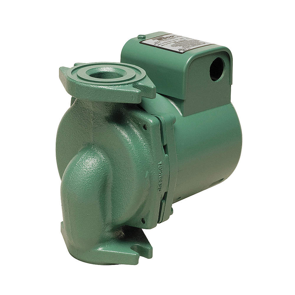 TACO 2400-20-3P Hydronic Circulating Pump,1/6HP,Flanged