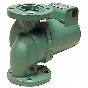 1/2 HP Cast Iron In Line,Mechanical Seal, Ball Bearing Hot Water Circulator Pump