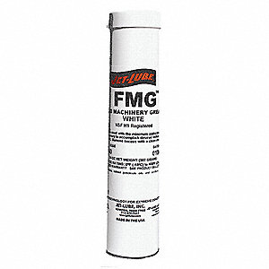 FMG White Aluminum Complex Food Machinery Grease, 14 oz., NLGI Grade: 2
