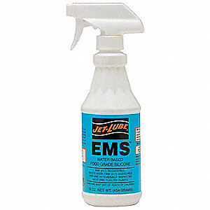 Lubricant, -25°F to 750 Degrees F, Silicone, 16 oz. Spray Bottle