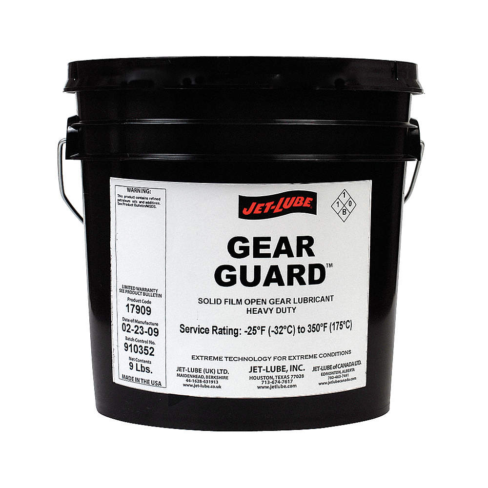 JET-LUBE Open Gear and Wire Rope Lubricant, 1 gal. Pail, Petroleum ...