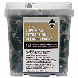45 g Low-Foam Extraction Cleaner, 50 PK