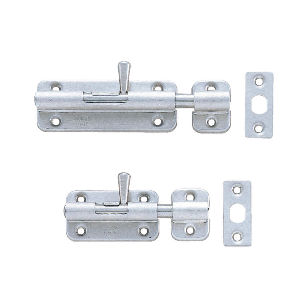 85mmx18mm 304 Stainless Steel Right Hand Spring Loaded Barrel Bolt Latch