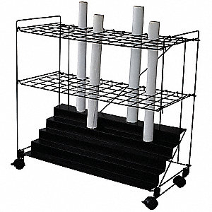 Mobile Roll File,60 Compartments