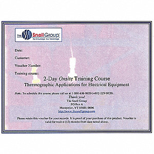 Thermography Training,Onsite,Electrical