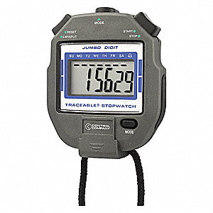STOPWATCH JUMBO DIGIT NIST 3X2