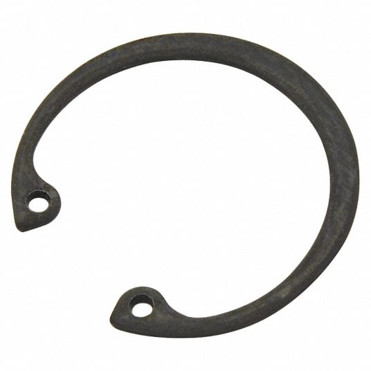 Standard Retaining Ring,  Internal,  50 mm For Bore Dia.,  53.0 mm Fits Groove Dia.,  Carbon Steel