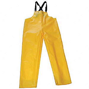 Rain Bib Overall,Unrated,Yellow,L
