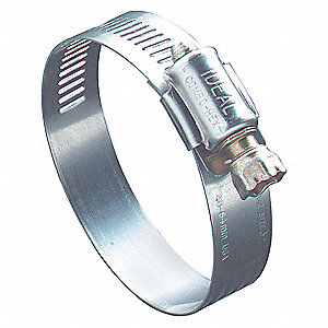 Hose Clamp,3 to 4 In,SAE 56,SS,PK10
