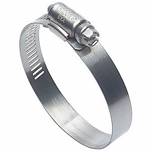 201 Stainless Steel Military Grade Worm Gear Hose Clamp&#x3b; PK500