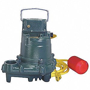 SUBMERSIBLE SUMP PUMP,HITEMP,3/10HP