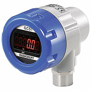 Pressure Transducer with Display,5000psi