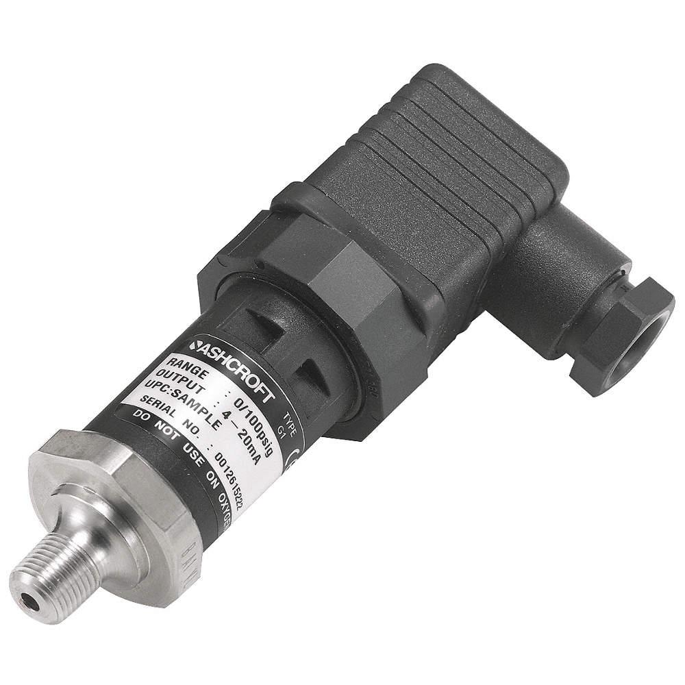 1//8 MNPT Pressure Transmitter 0 to 60 psi 4 to 20mA DC Output