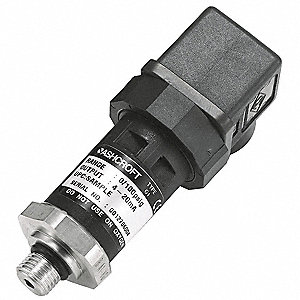 Transducer,0 to 100 psi,Output 1 to 5VDC