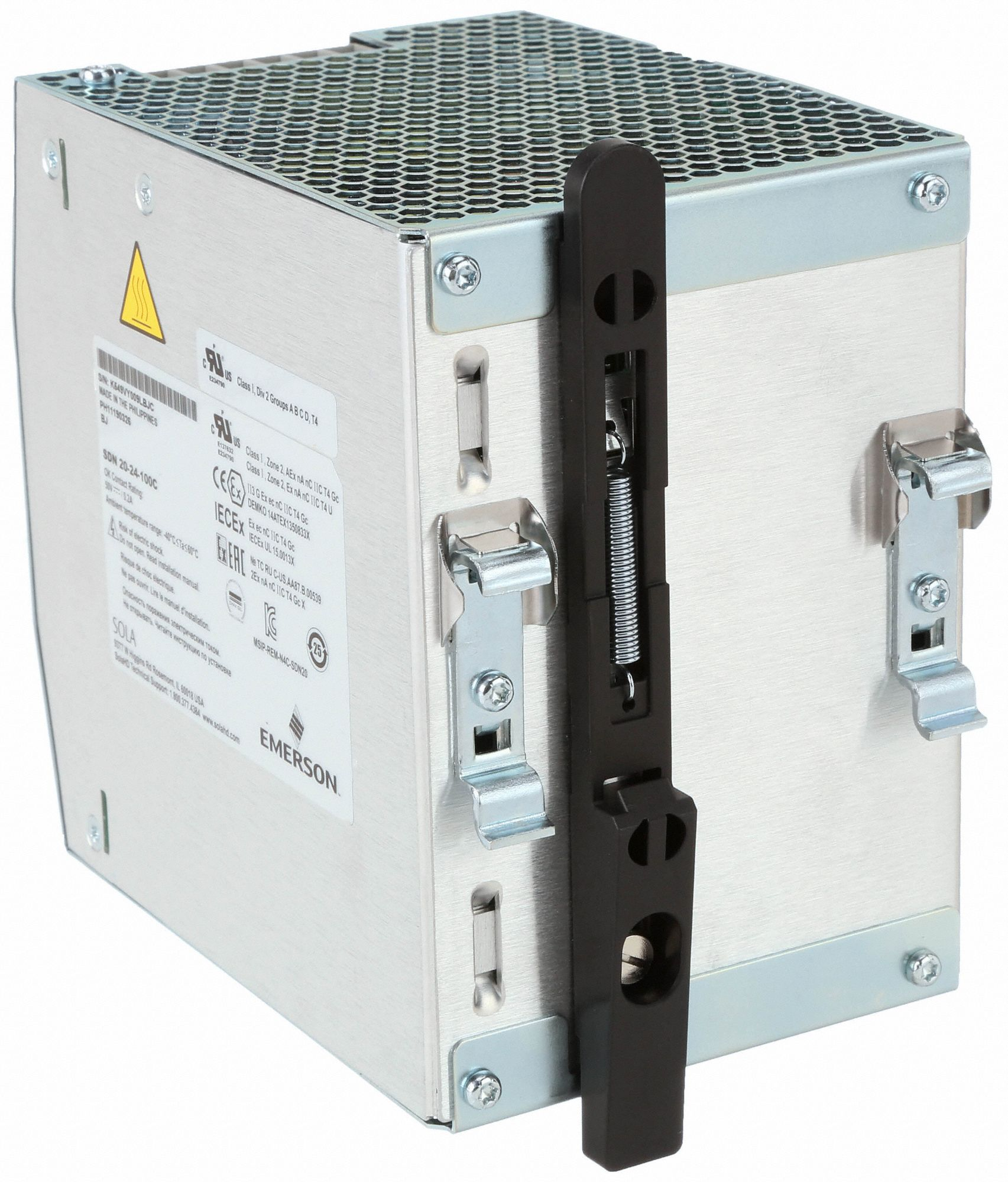 DC Power Supply,24VDC,20A,60Hz