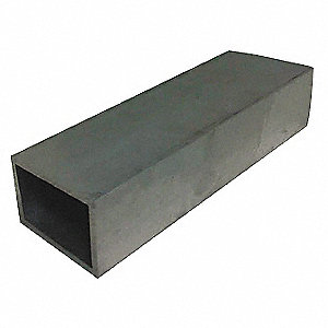 Aluminum Rectangular Tube Stock - Aluminum - Grainger