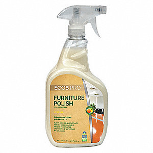 Furniture Polish,32 oz.,Pleasant Scented