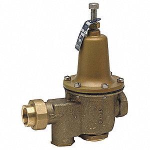 watts water pressure reducing valve 1 in 5dlz6 1 lfu5b. Black Bedroom Furniture Sets. Home Design Ideas