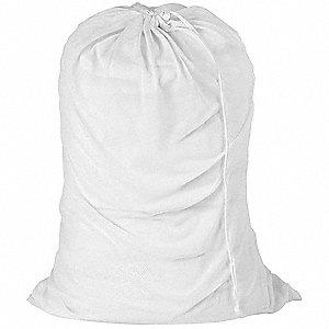 Honey Can Do Heavy Weight Polyester Drawstring Mesh Laundry Bag 36 L X 24 W White 5dmn3 Lbg 01142 Grainger