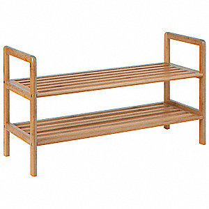 Shoe Shelf,2-Tier,6 to 8 Pairs