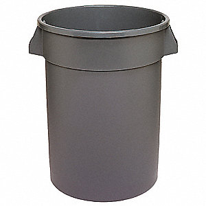 20 gal. Gray, LLDPE Utility Container