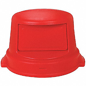 DOME TOP LID,RED,44 GAL