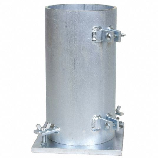 Cylinder Mold, Diameter 6 In, Height 12 In