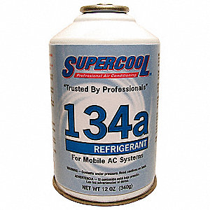 134A Automotive Refrigerant, 12 oz. Can