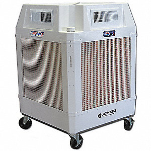 Portable Evaporative Cooler,2460/1660cfm