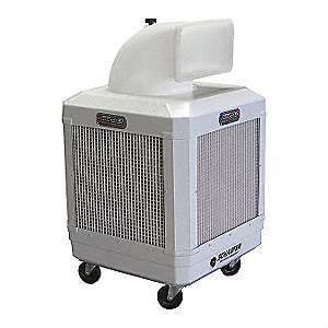 1560/1320 cfm Belt-Drive Portable Evaporative Cooler, 1/3 HP, Covers 1000 sq. ft.